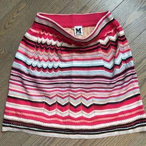 Missoni multicolored skirt size Small